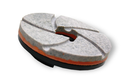 Resin bond diamond chamfering discs, for edge chamfering of marble, granite and other stone. Manufactured by Mark Corporation, Chennai.